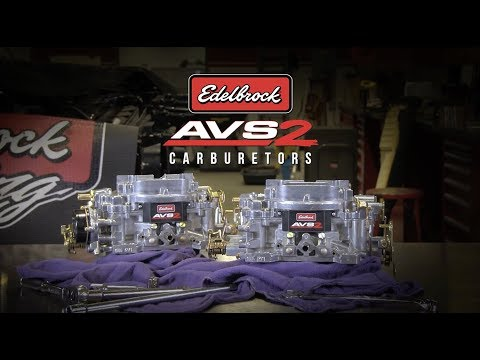 Edelbrock AVS2 Series Carburetors