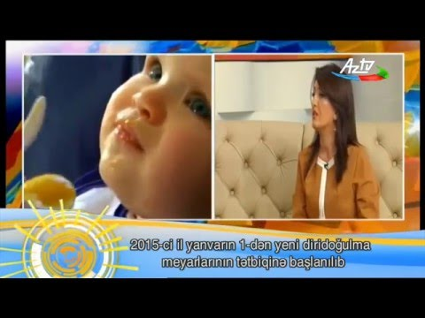 Expert talked about applying of new live birth criteria on AZTV channel