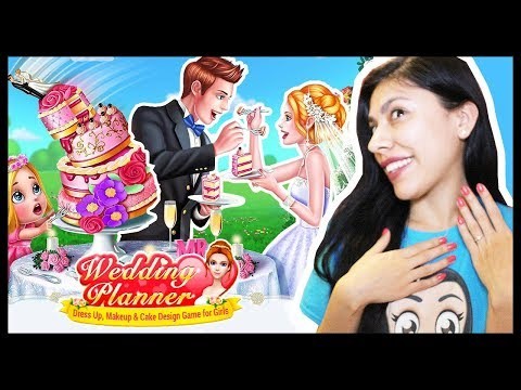 PLANNING MY DREAM WEDDING! - WEDDING PLANNER 💍 - Dress Up, Makeup & Cake Design ( App Game )
