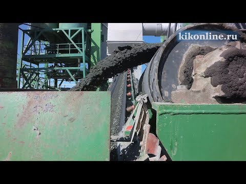 Асфальтобетонный завод приступил к работе