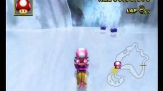 N64 Sherbet Land 2'04''322 ☆ROK☆Ken - Mario Kart Wii World Champion