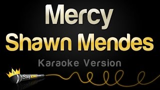Shawn Mendes   Mercy (Karaoke Version)