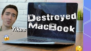 Can I restore this DESTROYED MacBook Pro?