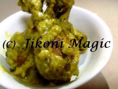 Kuku Paka | Kenyan Grilled Chicken Curry in Coconut Cream | Jikoni Magic