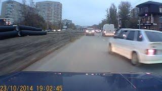 Псих на дороге Ростова | Crazy driver on the road
