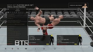 WWE 2K17 NXT Enhancement/Legacy DLC Pack Moves & Taunts