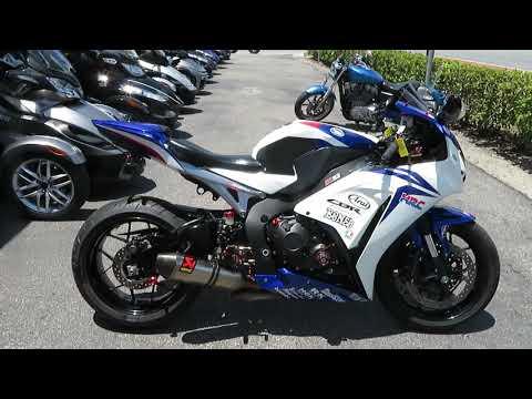 2012 Honda CBR®1000RR in Sanford, Florida - Video 1