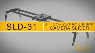 ikan SLD-31 DSLR Carbon Fiber Video Camera Slider