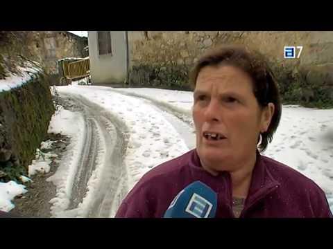Nieva en Ponga y Amieva