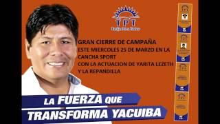 preview picture of video 'GRAN CIERRE DE CAMPAÑA DE TPT - marcial rengifo ejecutivo seccional de yacuiba TPT'