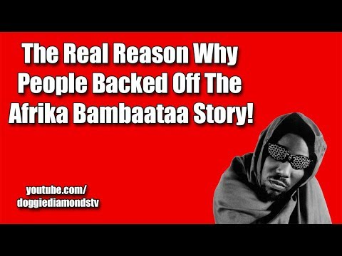 The Real Reason Why People Backed Off The Afrika Bambaataa Story!