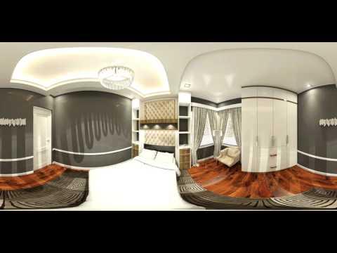 360 Yatak ve Oturma Odaları Turu