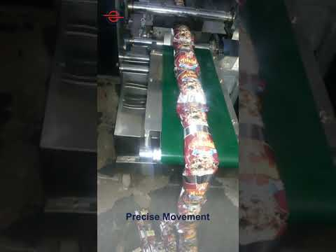 Facemask Packing Machine Flow Wrap