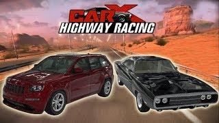 Детские развивающие мультики супер прохождение игры Car X Highway Racing Серия 3