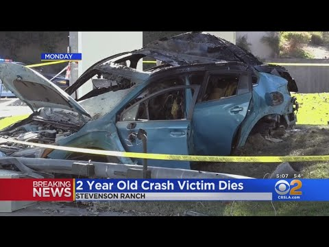 6-Year-Old, 2-Year-Old Dead In Fiery Crash In Stevenson Ranch; Mom Was Found Naked In Car
