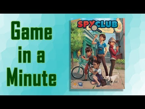 Game in a Minute: Spy Club