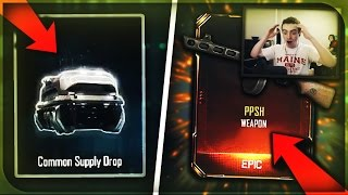 HE GOT EXACTLY WHAT HE WANTED! *NEW* WEAPON BRIBE SUPPLY DROP OPENING for a SUBSCRIBER! (BO3 DLC)