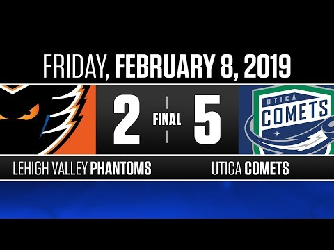 Phantoms vs. Comets | Feb. 8, 2019