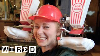 Robot Queen Simone Giertz Tours Her Mad Laboratory | WIRED