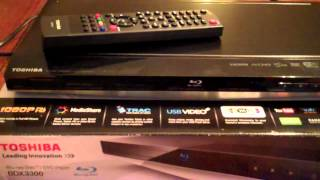 Toshiba BDX 3300 Blu_Ray DVD Player Review.mp4