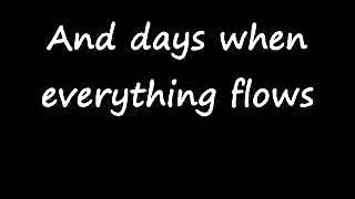 D.A.D.- Everything glows with lyrics