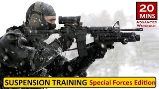 20mins Suspension Training Special Forces Edition Workout by Coach Ali