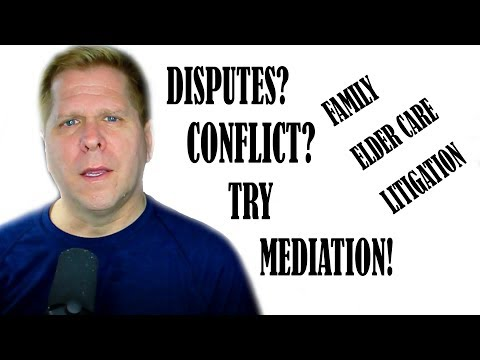 Video - Are You Having a Dispute? Try Mediation