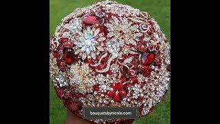 DIY Brooch Bouquet L RUBY L Wedding Project L Bridal Bouquet Flowers
