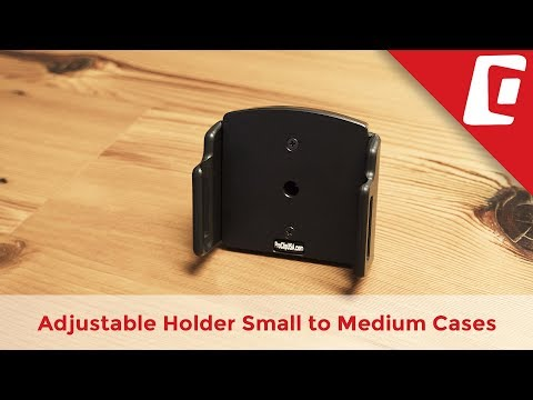 Play Video: Adjustable Phone Holder for Small to Medium Cases