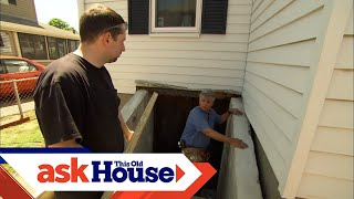 How to Replace Basement Bulkhead Doors | Ask This Old House