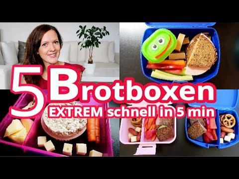 #BROTDOSE   #LUNCHBOX   #SNACKS   #Frühstück für KITA & SCHULE   JUNGE & MÄDCHEN   Rebekka