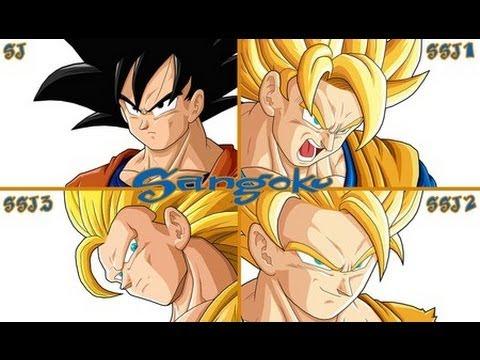 Dragon Ball Z Kai Ultimate Butoden Goku's Moveset (All Forms)