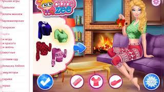 Игра Барби зимние цели на сайте игры-для-девочек.su