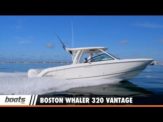 Boston Whaler 320 Vantage: Video Boat Review
