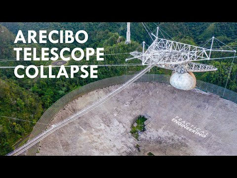 What Caused the Arecibo Telescope to Collapse?