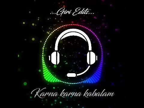 Karna karna kabalam folk beat drums music