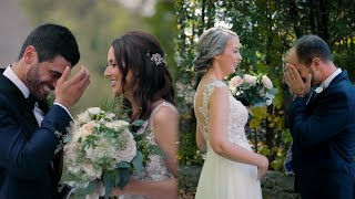 Emotional Grooms Reactions // FIRST LOOK Montage