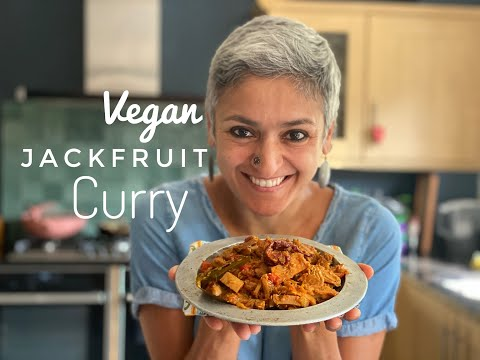 JACKFRUIT CURRY | Vegan curry | Healthy curry | Healthy Indian Vegetarian food | Food with Chetna