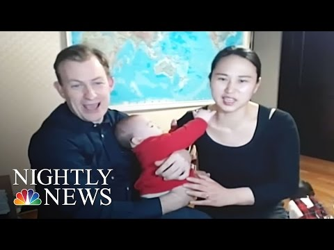 Family In Hilarious BBC Interview Speak Out About Viral Experience | NBC Nightly News