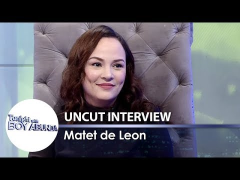 Matet de Leon | TWBA Uncut Interview