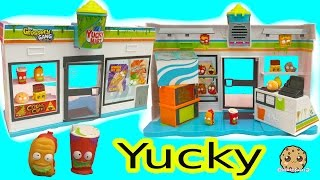 Grossery Gang Yucky Mart Store + Crusty Chocolate Bar Surprise Blind Bags