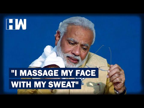 Narendra Modi Shares Skincare Tips, Says He Massages His Face With Sweat | HW News English
