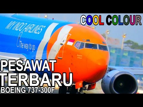 Pesawat Unik Milik Indonesia - MY INDO AIRLINES (video Pesawat Indonesia)