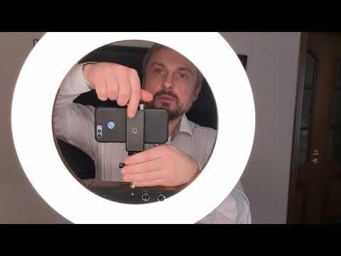 Профи держатель LUMO™ для смартфона и фотоаппарата к кольцевой светодиодной лампе со штативом купить в Киеве (Украине) 356797  2