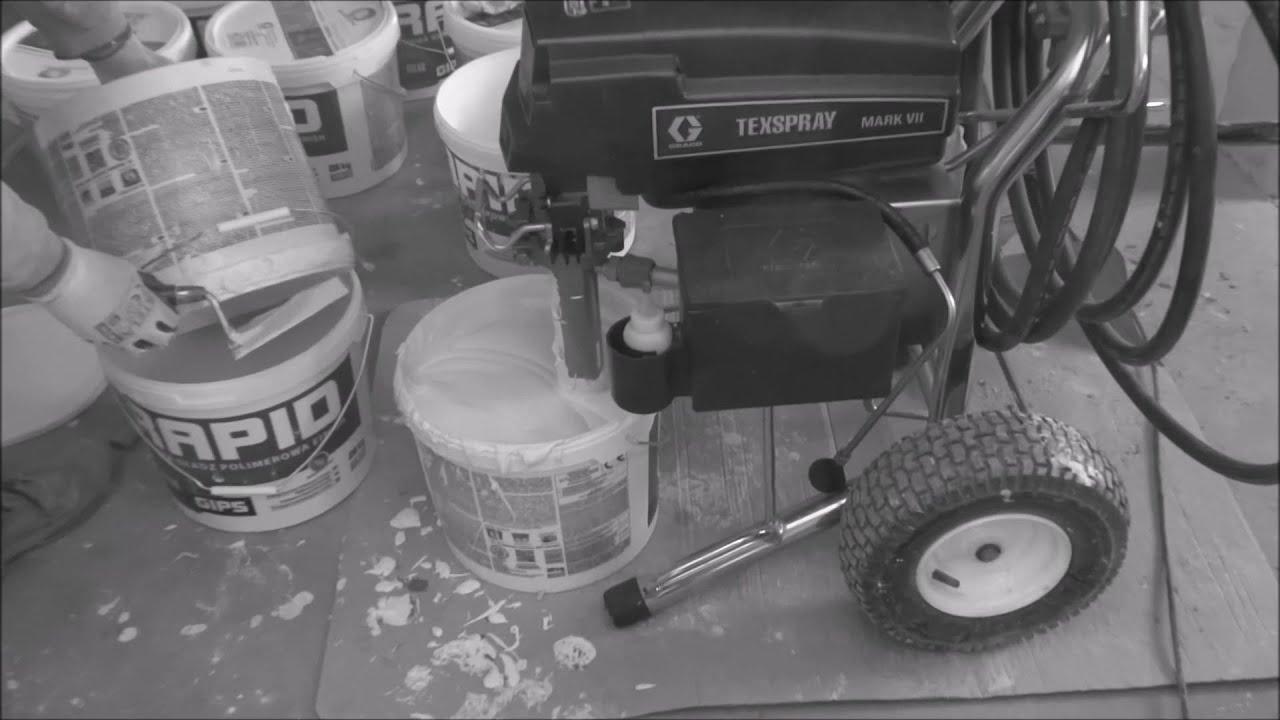 Harbud - gładzie i malowanie agregatem hydrodynamicznym