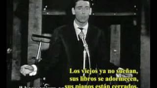 Les Vieux -Jacques Brel- Subtitulada