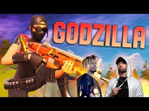 """Fortnite Montage - """"GODZILLA"""" (Eminem & Juice WRLD)"""