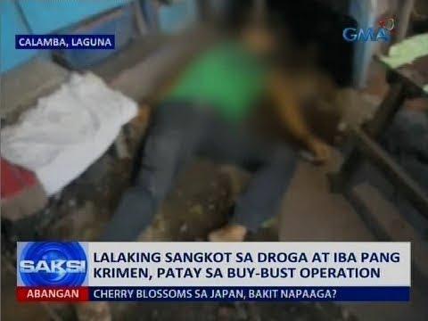 [GMA]  Saksi: Lalaking sangkot sa droga at iba pang krimen, patay sa buy-bust operation
