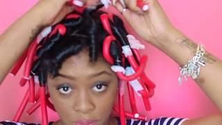 How To: Flexi Rod Set | Natural Hair