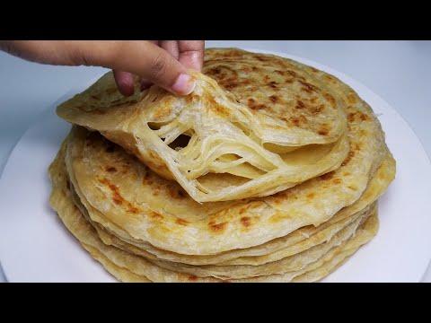 Jinsi ya kupika chapati za kuchambuka za ki morocco | Flaky chapati recipe